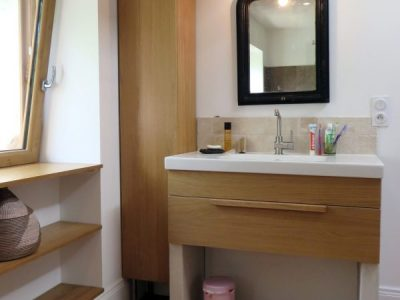 Salle de bains campagnarde